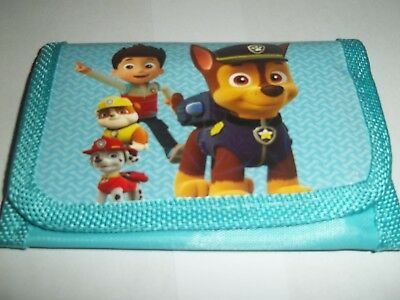 Paw Patrol Children's Wallet ( Ryder and chase model )