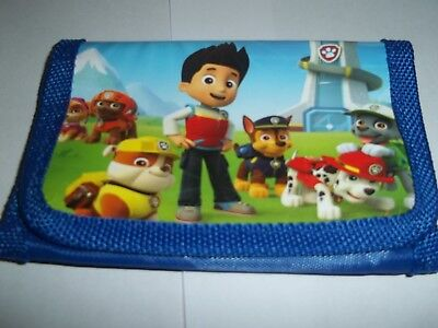 Paw Patrol kid's wallet ( pups on the play model )