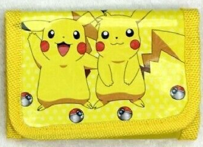 Pokemon kid's wallet ( Pikachu and Sparky Model )