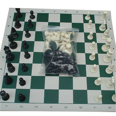 High Quality Plastic International Chess With Board 32PC Full Entirely Chess Set