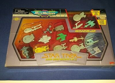 Vintage Micro Machines Star Trek Limited Edition Collector's II 2 Galoob 65946