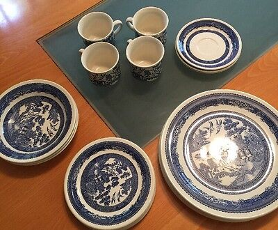 Blue Willow New Zealand Partial Dinnerware Spares