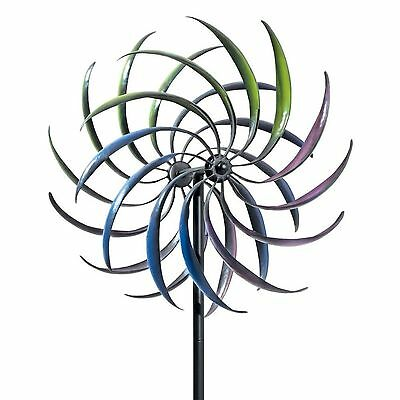 FRENCH DESIGN very tall  2.1m high   WIND SPINNER MILL GARDEN  OUTDOOR NEW
