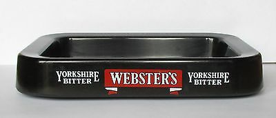 Websters Yorkshire Bitter Beer melamine plastic cigarette ashtray for home bar
