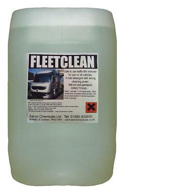TRUCKWASH 25L Non Caustic TFR Traffic Film Remover 100:1 FREE FAST DELIVERY