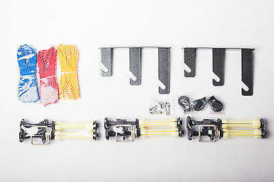 3 Roll Wall Mount Studio Background Backdrop Support Roller System Paper