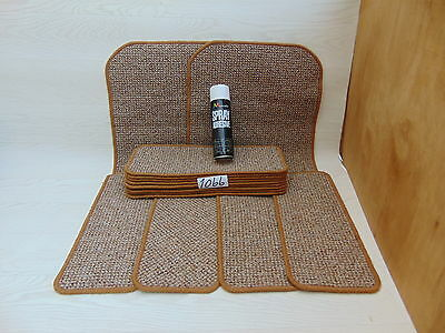 Stair pads 50cm Wide 13 off  and 2 Big Mats with a FREE can of SPRAY GLUE 1066-7