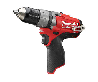 Milwaukee 12V Compact 2-Speed Percussion Drill - M12Cpd - Body Only