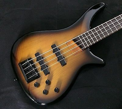 Bass Collection Speakeasy 4 Bass Two Tone Sunburst Finish New