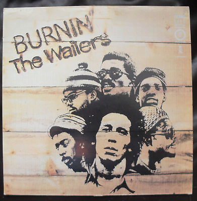 Burnin The Wailers / Island Records Lp