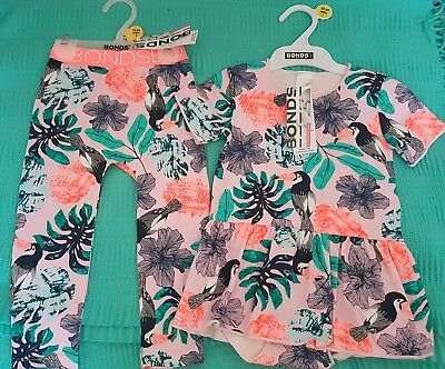 Bonds Toucan Ballet and Stretchies Size 2 NWT