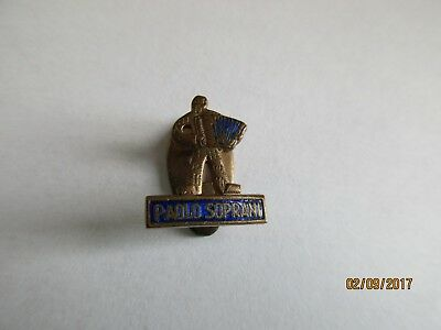 P01-01 - PAOLO SOPRANI buttonhole badge - accordion pin - music tie tack - pins