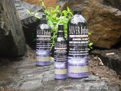 BEST Colloidal Silver, 300 time more effective, 32oz, 10 year shelf life,