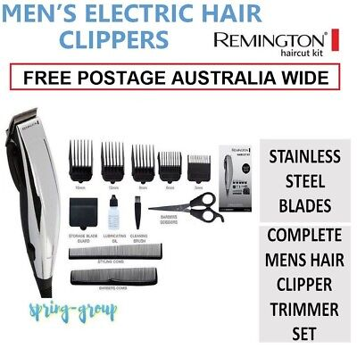 Remington Mens Electric Hair Clippers Styling Home Haircut Boys Trimmer Grooming