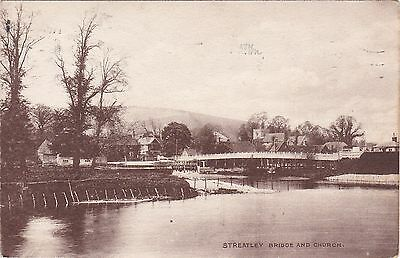 The Bridge & Church, STREATLEY, Berkshire