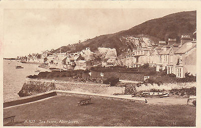Sea Front, ABERDOVEY, Merionethshire