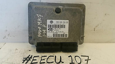 Vw Polo Mk7 1.4 Petrol Control Unit Engine Ecu 036906034Ka