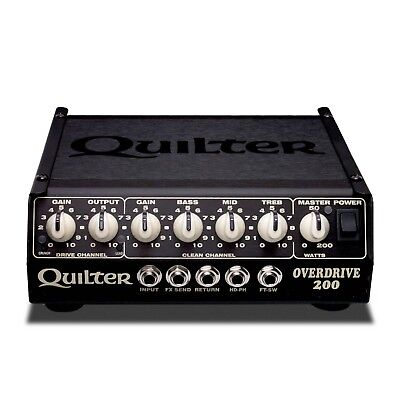 Quilter Labs Overdrive 200, 200W 4 Channel, Amplifier Head