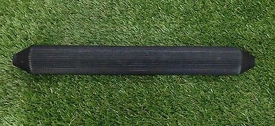 """Large Perch Rubber 16"""" X 2"""" Fluted Tapered"""