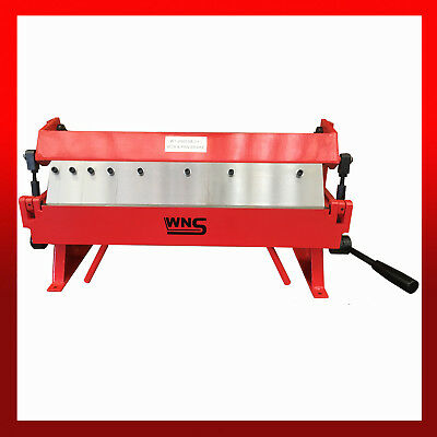 WNS Sheet Metal Box and Pan Folder 600mm x 1.0mm Folding Machine Bender Brake