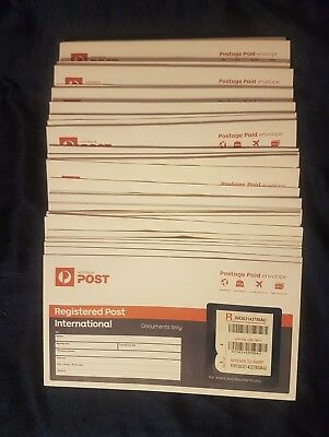 100x Registered DL International Envelopes