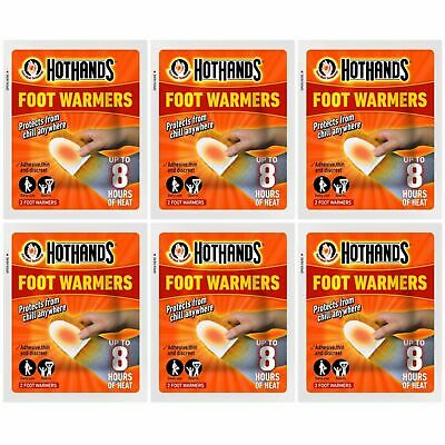 Hot Hands Foot Warmers - 6 Pairs