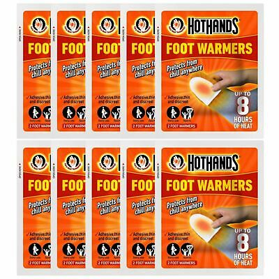 Hot Hands Foot Warmers - 10 Pairs