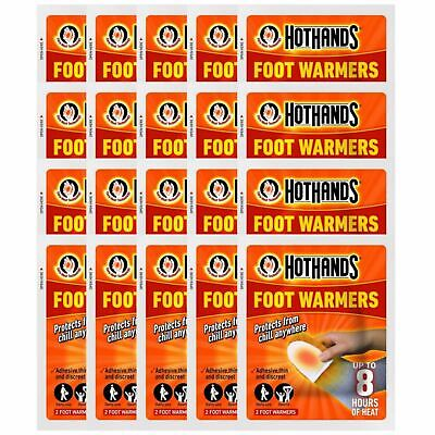 Hot Hands Foot Warmers - 20 Pairs