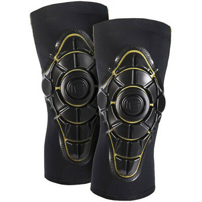 G-form Pro X Unisex Body Armour Knee Pads - Black Yellow All Sizes