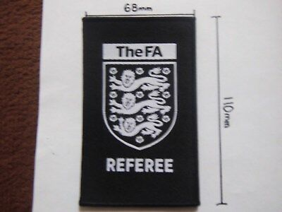 Brand New FA Referee Shirt Badge / Patch 2017/18- for Nike shirt?