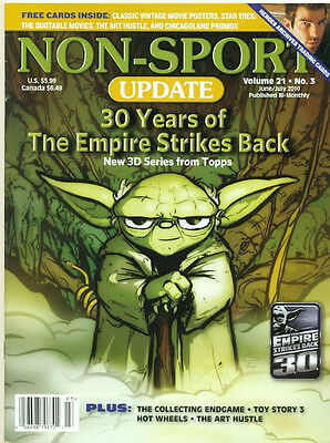Non Sport Update-Empire Strikes Back Cover+Star Wars+Star Trek+Heroes-No Cards