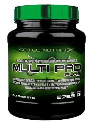 Scitec Nutrition - Multi Pro Plus, 30 Portionen - Multivitamin, Multimineral -