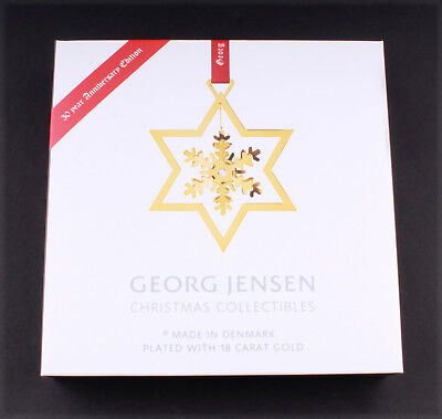 Georg Jensen 1987 / 2017 Christmas Mobile: Snowflake. Design: Finn Clausen. NEW!