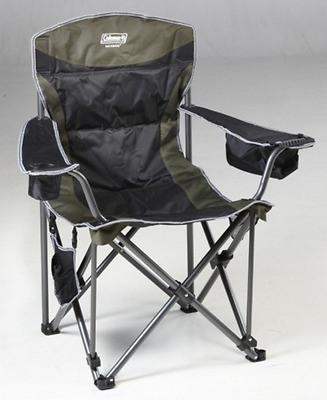 Chair Camping Folding Picnic Outdoor Portable Beach Fishing Seat Arm Travel Camp