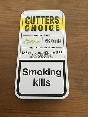 Cutters Choice limited edition tobacco tin