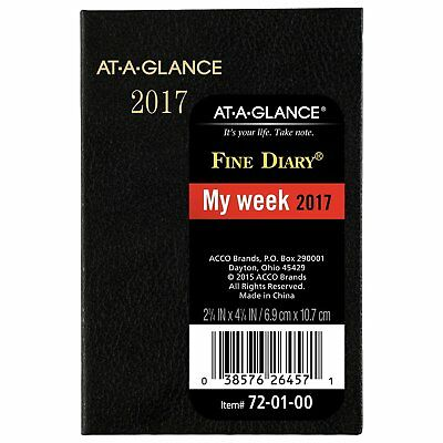 at a glance pocket diary 2017 weekly monthly diary personal calendar organizer