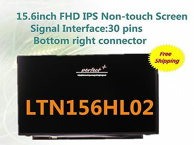 72% support color IPS Screen LTN156HL02 Fit LP156WF6-SPA1 FOR DELL Inspiron 7567