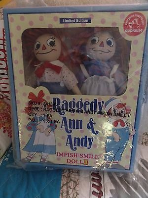 NEW 2003 Limited Edition Raggedy Ann & Andy Impish Smile Doll II  Japan