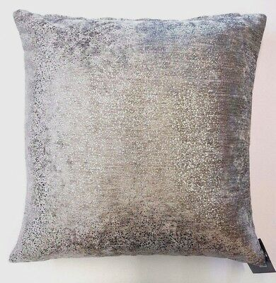 Glittering  Silver Speckled Luxury Velvet Cushion Cover Free Postage £6.99 Each