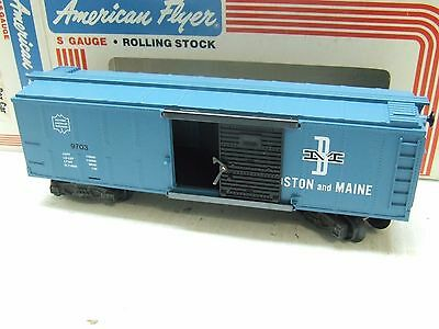 American Flyer Boston & Maine Box Car 9703