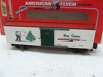 American Flyer 1996 Xmas Box Car 48325