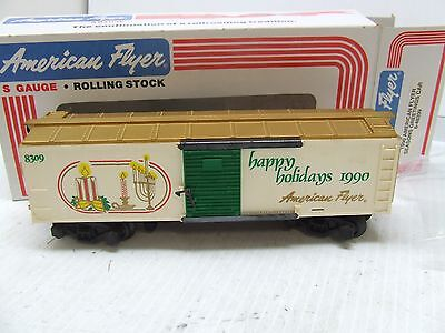 American Flyer 1990 Xmas Box Car 48309