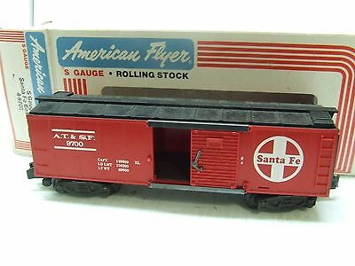 American Flyer Santa Fe Box Car 9700