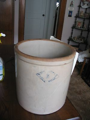 #3 Blue Diamond Brand Crock from Pittsburgh Pottery  LOCAL PICK UP ONLY