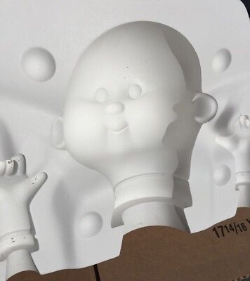 Bell Molds - 2495 - Doll Head and Hands Mold Bubble Gum Gang