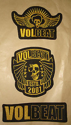 VOLBEAT- LOGO Embroidered PATCH