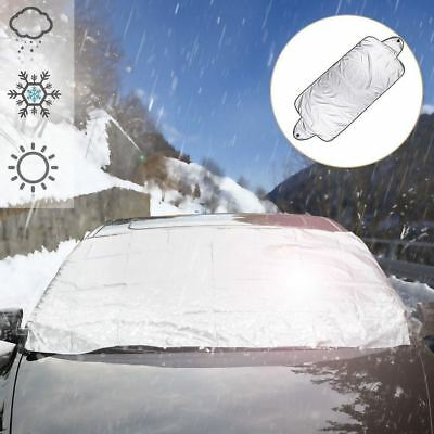 Car Windshield Cover Front Rear Window Sun Shade Visor Protector 200cm x 70cm