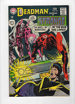 Strange Adventures #214 (Sep-Oct 1968, DC) - Fine/Very Fine