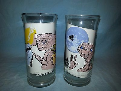 2 ~ E.T. (Extra-Terrestrial) Glasses, 1982 Pizza Hut, Phone Home & Be Good