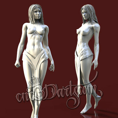 3D Model STL for CNC Router Artcam Aspire Sexy Nude Girl Panel Cut3D Vcarve